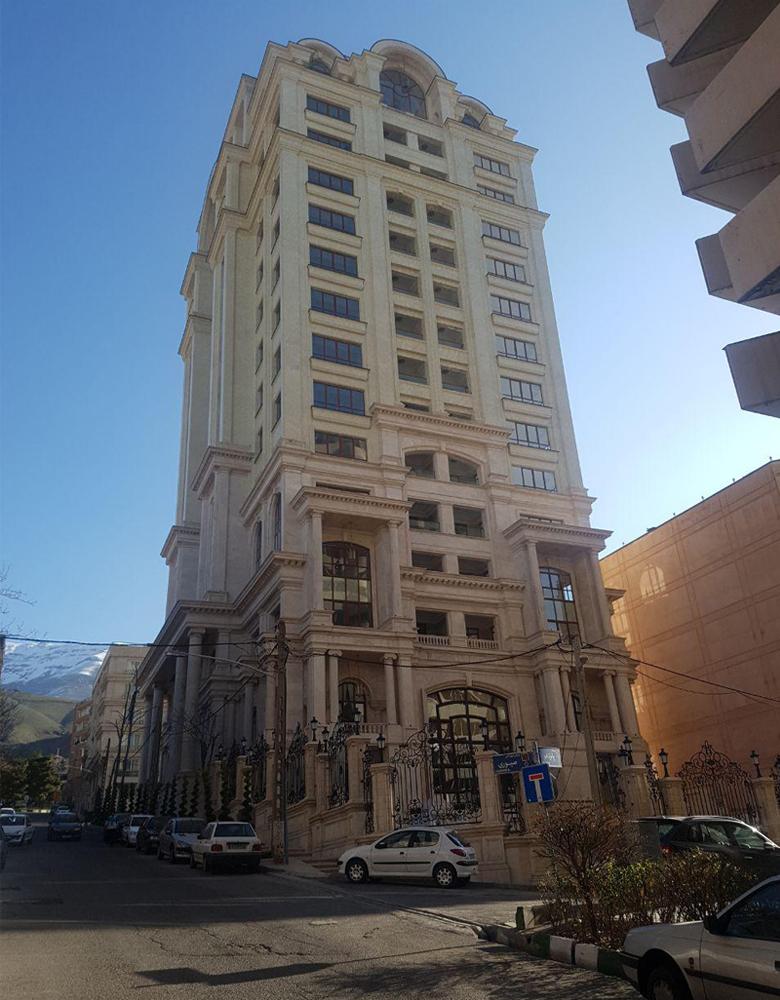 برج لوکس خیابان امیر واقع در کاشانک